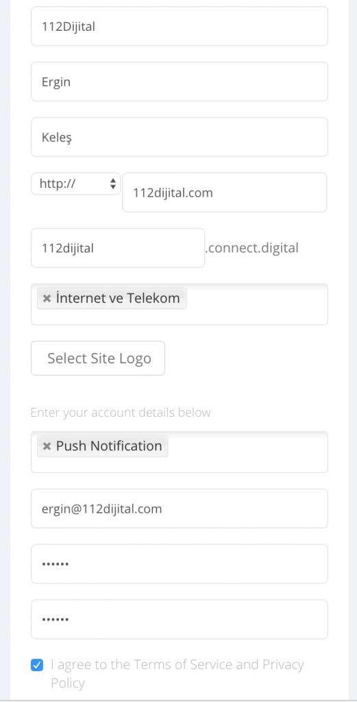Connect Digital Kayıt