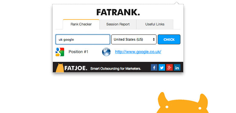 fatrank chrome eklentisi seo